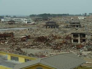 津波の猛威を痛感しました