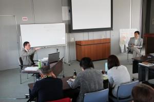 小菅さんと原田副センター長のトークセッション