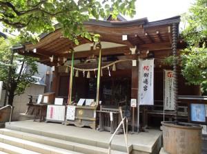 鳩の森神社5本殿