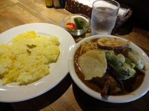 へんどりくすかりーばー千駄ヶ谷野菜カレー