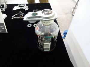 持ち手のところがしっかりした造りで握りやすい缶オープナーです。