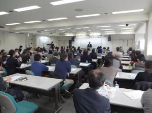 約100名の方が集まって、日本福祉大学セミナーが開催されました。