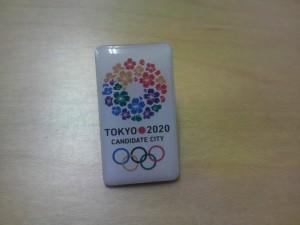 20130129東京オリンピック招致バッジ